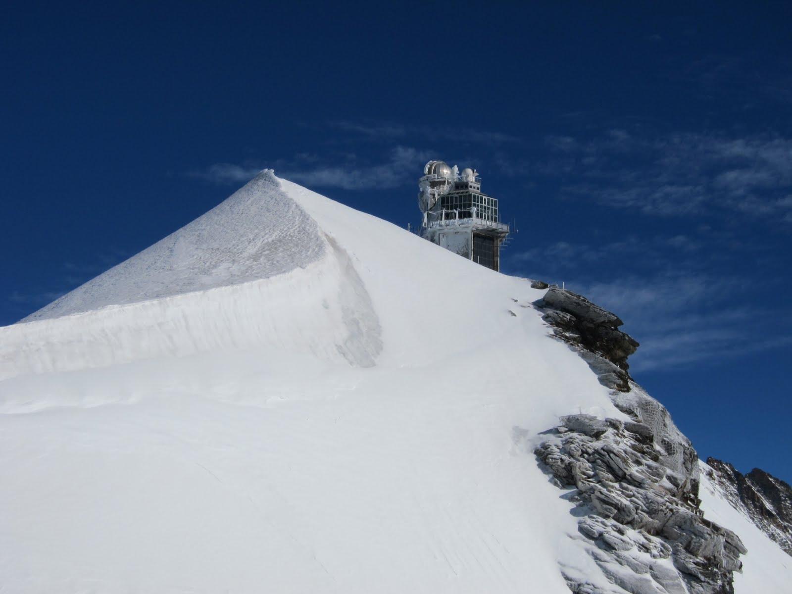 "The Jungfraujoch observatory ""Sphinx"""