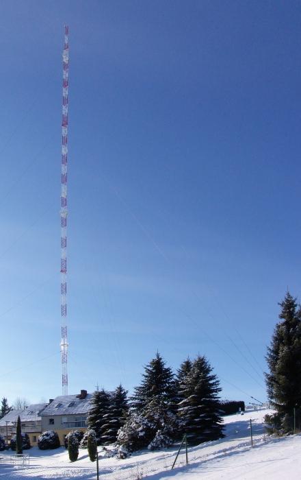 Košetice - Křešín u Pacova tall tower station